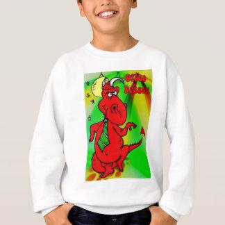 Welsh Disco Dragon Sweatshirt