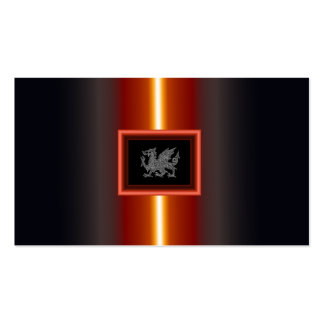 WELSH DRAGON 2 PACK OF STANDARD BUSINESS CARDS