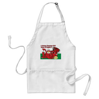 Welsh Dragon, 6 Nations Champions, Wales v England Standard Apron