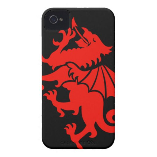 Welsh Dragon iPhone 4 Cover