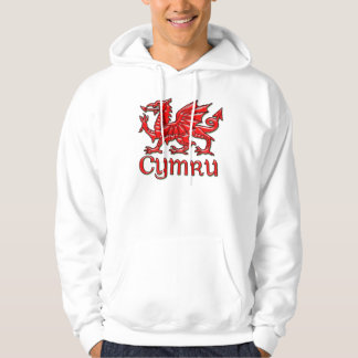 Welsh Dragon Cymru Hoodie Wales, St. David's Day