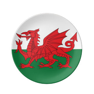 Welsh Dragon Decorative Plate