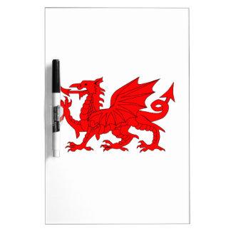 Welsh Dragon Dry Erase Board