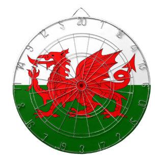 Welsh Dragon Flag Dartboard