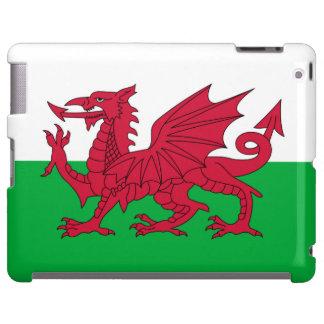 Welsh dragon flag iPad case