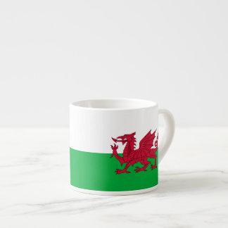 Welsh dragon flag 6 oz ceramic espresso cup