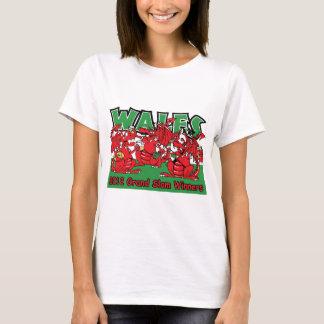 Welsh Dragon, Grand Slam Winners 2012 T-Shirt