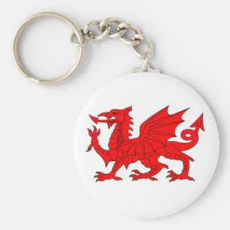 Welsh Dragon Key Chain