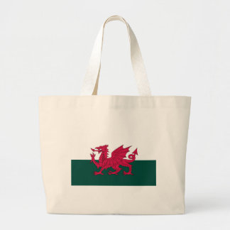 Welsh Dragon Large Tote Bag