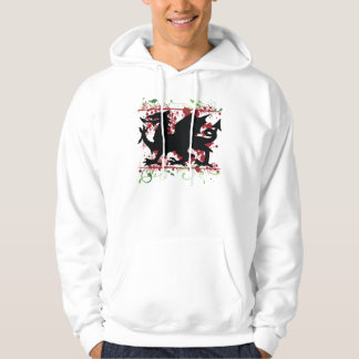 Welsh Dragon Men's Hoodie Sweatshirt