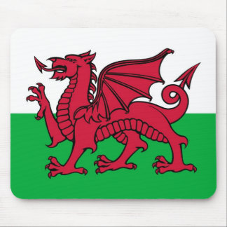 Welsh Dragon Mouse Mat