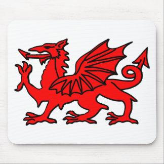 Welsh Dragon Mouse Mat