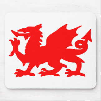 Welsh Dragon Mouse Pad
