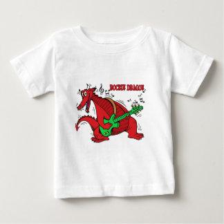 Welsh Dragon Rockin Baby T-Shirt