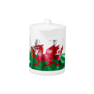 Welsh Dragon Rugby Ball Flag
