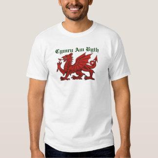Welsh Dragon Shirts