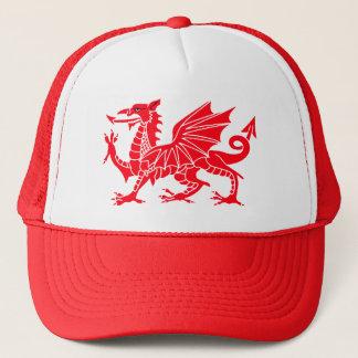 Welsh Dragon Trucker Cap