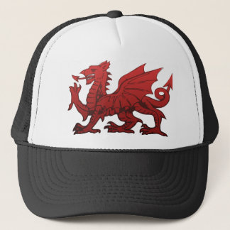 Welsh Dragon Trucker Hat