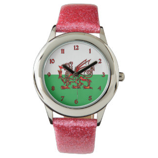 Welsh Dragon Wrist Watches