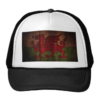 Welsh flag. cap