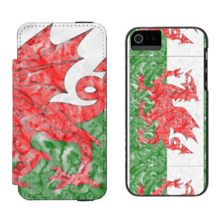 Welsh Flag Incipio Watson™ iPhone 5 Wallet Case