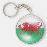 Welsh Flag Key Chains