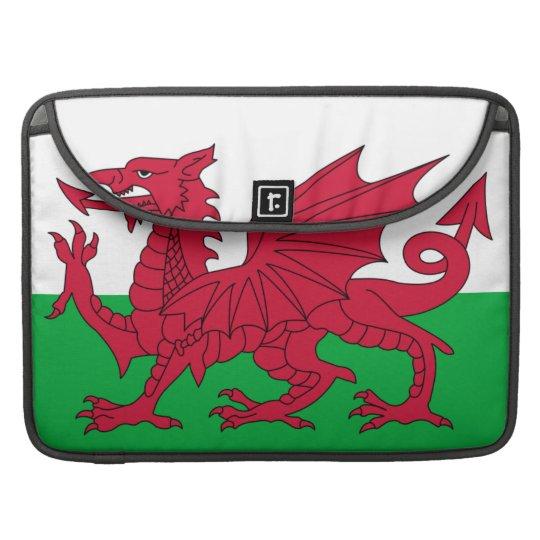 Welsh Flag Macbook Pro Flap Sleeve Sleeves For MacBooks