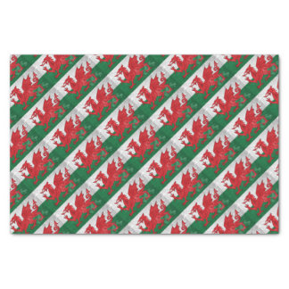 Welsh Flag Tissue Paper