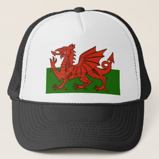 Welsh Flag Trucker Hat