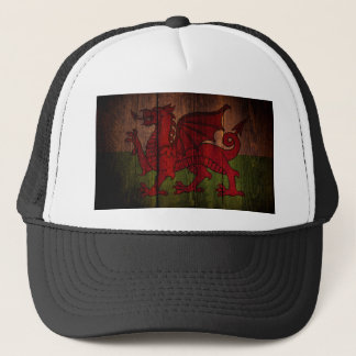 Welsh flag. trucker hat