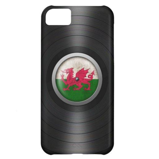 Welsh Flag Vinyl Record Album Graphic iPhone 5C Cases