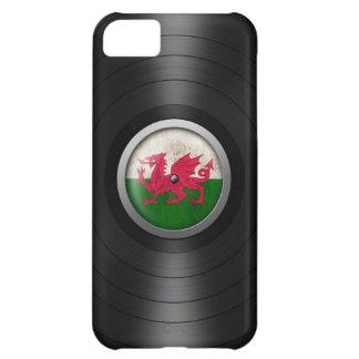 Welsh Flag Vinyl Record Album Graphic iPhone 5C Case