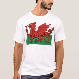 Welsh flag, wear it with pride T-Shirt