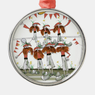 welsh football defenders christmas ornament