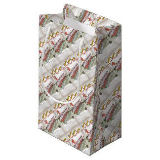 welsh football substitutes small gift bag