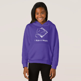 Welsh Girls Hooded Sweatshirt