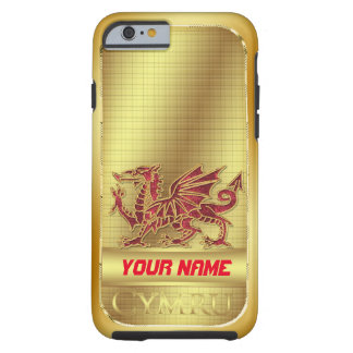 Welsh Golden Effect And Red Dragon iPhone 6, Tough Tough iPhone 6 Case
