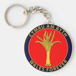 Welsh Guards Key Ring