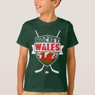 Welsh Ice Hockey Logo Kids Tee