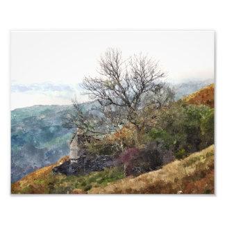 WELSH MOUNTAIN LANDSCAPE PHOTO PRINT
