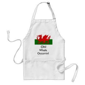 welsh, Oh! , Whats Occurrin! Standard Apron