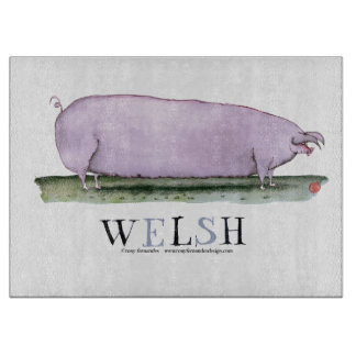welsh pig, tony fernandes cutting board