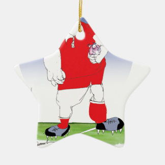 welsh player, tony fernandes christmas ornament