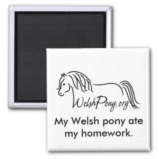 Welsh Pony & Cob Society of America Magnet