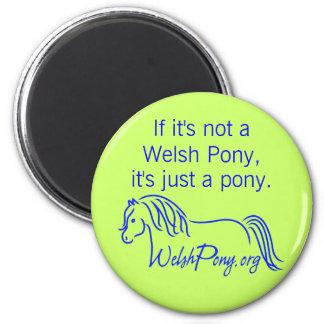 Welsh Pony & Cob Society of America. Magnet