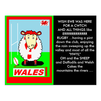 welsh postcard