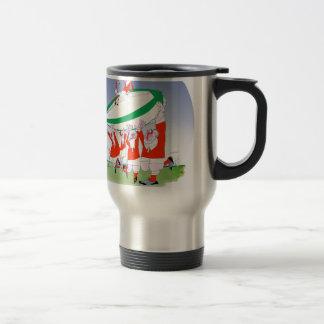 welsh rugby cheers, tony fernandes stainless steel travel mug
