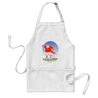 welsh rugby chums, tony fernandes standard apron