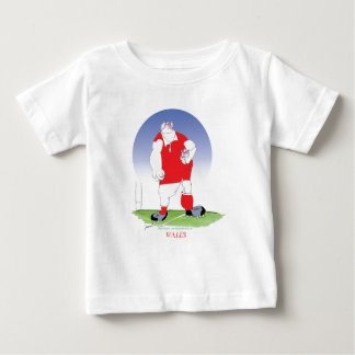 Welsh Rugby Player, tony fernandes Baby T-Shirt