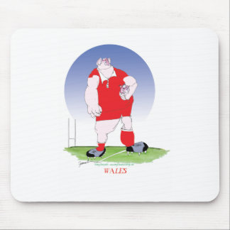 Welsh Rugby Player, tony fernandes Mouse Mat